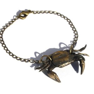 Crab Cancer Bracelet