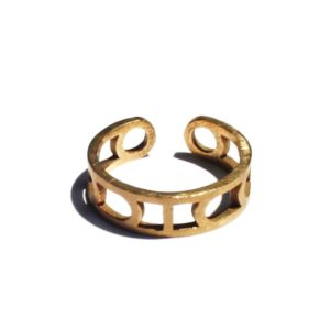 Moon Cycle Unisex Adjustable Ring